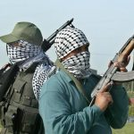 bank, gunmen abduct