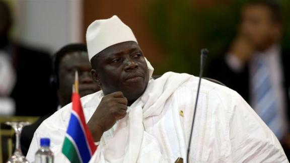 ECOWAS, GAMBIA, JAMMEH, adama