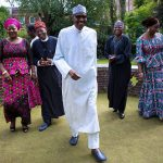 london, buhari returns