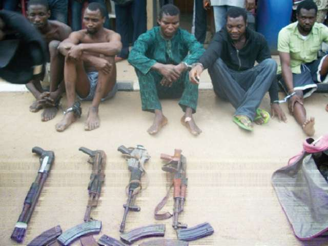 Nigeria Police Arrest 5 Robbers After 'Protective Charms Failed To
